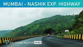 Mumbai to Nashik Express Highway | Road Trip | Fuze HD Exploring Nashik | Part#01