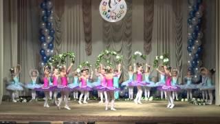 Отчетный концерт ДДЦ 'Аистенок', 2015. Вальс цветов.