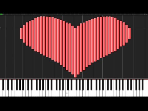 My Dearest - Guilty Crown (Opening 1) [Piano Tutorial] (Synthesia) // Animenz
