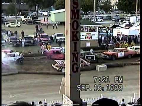 Wayne County Fair Demolition Derby Sept. 1999 Wooster, Ohio