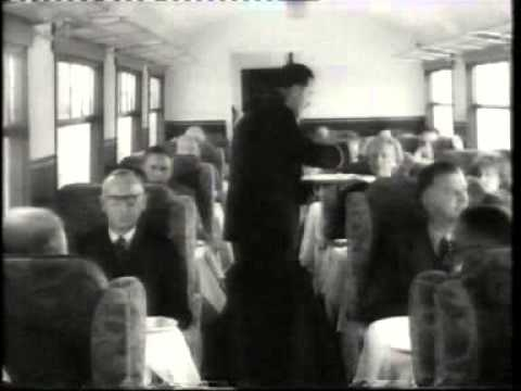 Class A4 Pacific Walter K Whigham On The Elizabethan Express (1950s) silent