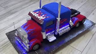 Truck Replica gehäkelt Transformers Optimus Prime