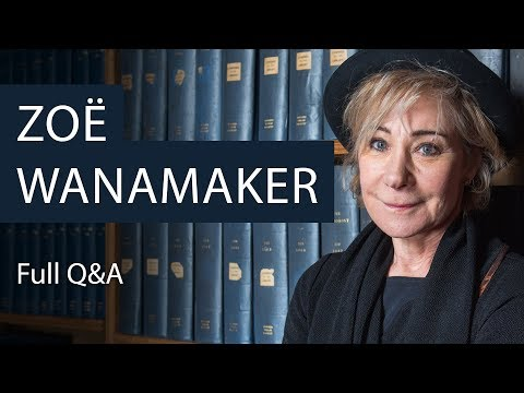 Zoë Wanamaker | Full Q&A | Oxford Union