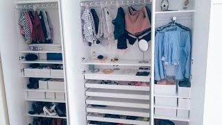 Cách sắp xếp tủ quần áo | gocDani