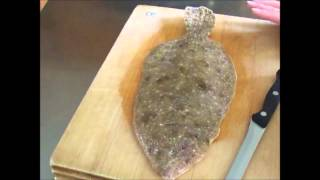 Open Face Stuffed Baked Flounder! On Off The Hook On The Plate!.wmv