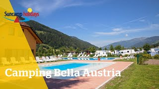 360° video campingtour op Camping Bella Austria - Suncamp holidays