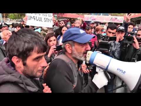 A opta zi de proteste la Erevan