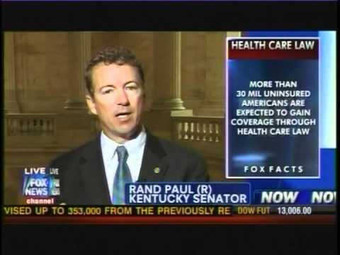Sen. Rand Paul on America's Newsroom - 03/22/12