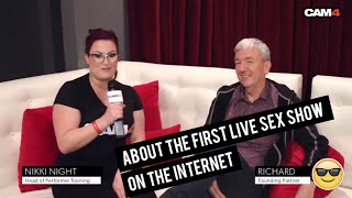 """The First Live Sex Show on the Internet"" 