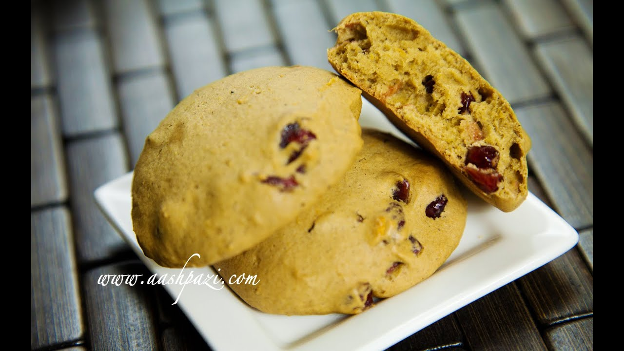 Cranberry Cookies Soft Youtube