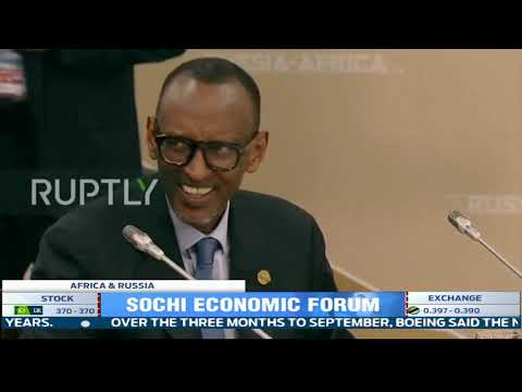President Kagame attends Russia-Africa Economic Forum