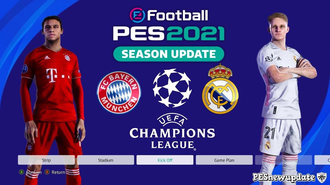 Real Madrid Vs Bayern 2021