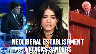 The Grayzone's Anya Parampil slams mainstream media's anti-Sanders bias on Tucker Carlson Tonight