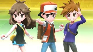 Pokémon Let's Go Pikachu & Eevee - Champion Trio Red, Green & Blue Battle