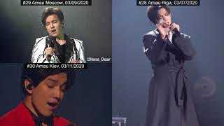 Dimash - Late Autumn, Part 3 - 11 combined live performances from Arnau and more (2019-2020) + bonus
