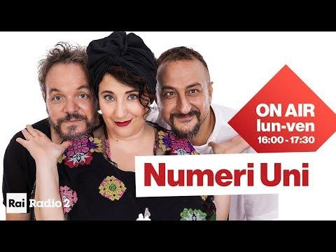 Numeri Uni Radio2: Nuzzo - Di Biase - Casciari | Diretta del 22/05/2020