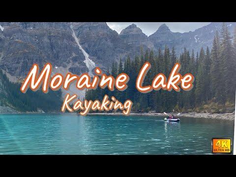 Moraine Lake | Kayaking | Hiking Larch Valley | Sentinel Pass | Banff National Park, Alberta, Canada