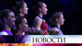 На Чемпионате Европы в Москве российские фигуристы взяли абсолютное большинство наград