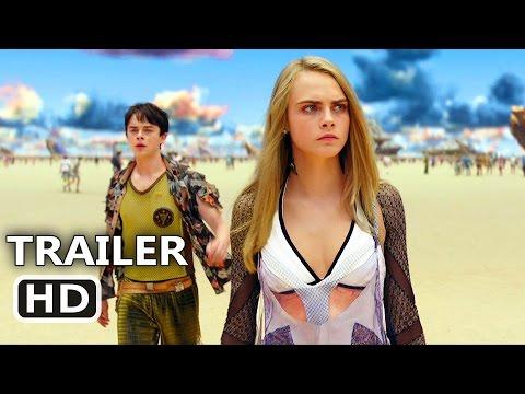 VALERIAN Official Trailer # 2 (2017) Cara Delevingne, Dane DeHaan, Rihanna Sci-Fi Movie HD