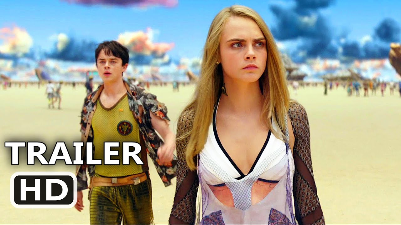 Valerian Official Trailer 2 2017 Cara Delevingne Dane Dehaan Rihanna Sci Fi Movie Hd Youtube