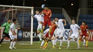 Uzbekistan vs China (AFC U-19 Championship 2016: Group Stage)