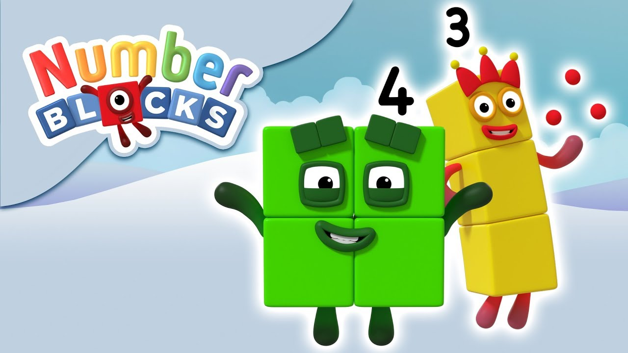 Numberblocks - Counting Stories | Learn to Count
