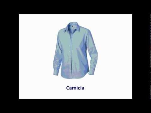 detailed look bc560 2ca2c Italiano Per Bambini: Abbigliamento - YouTube