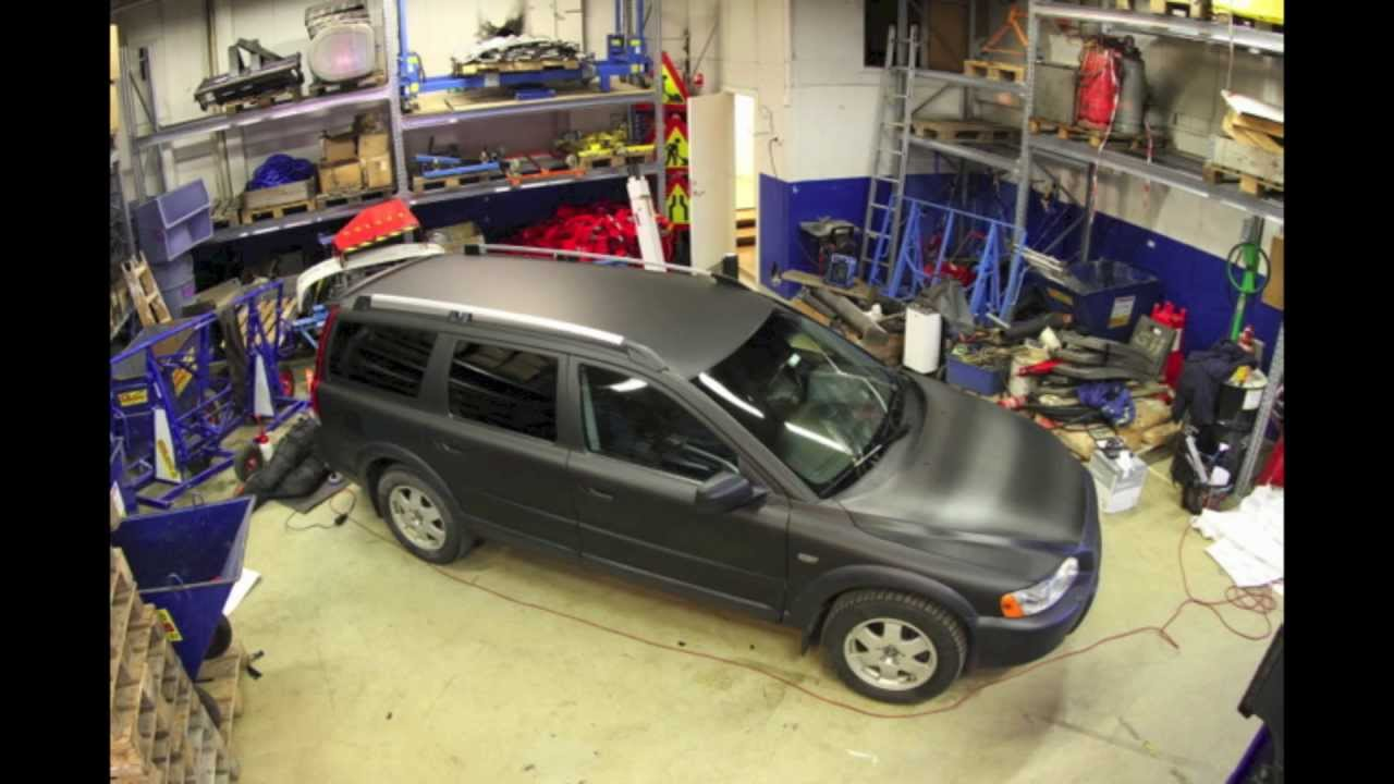 Matt Black Volvo Xc70 In 2min Youtube