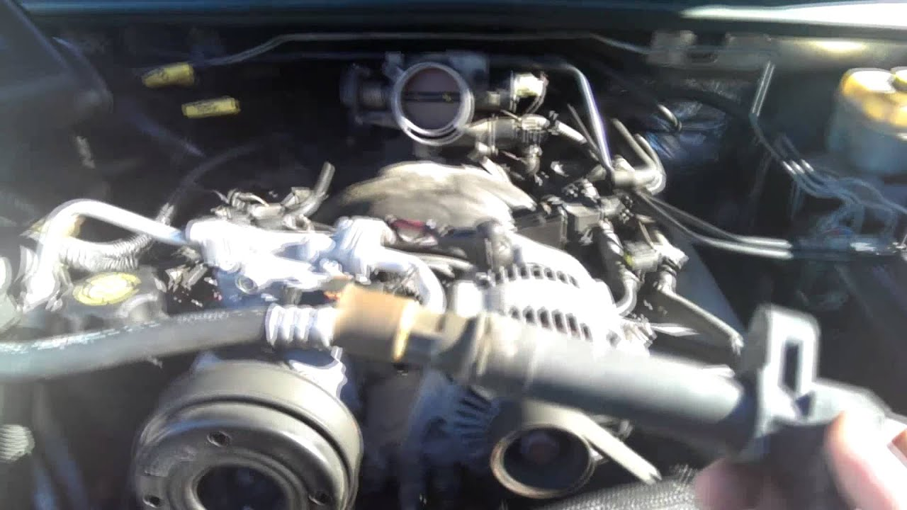 2002 Jeep Liberty Fuel Filter Location