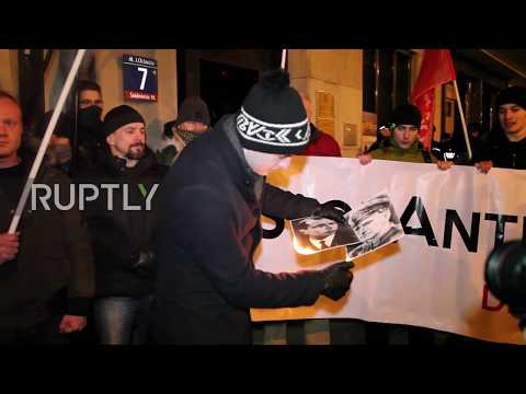 Poland: Polish nationalists rally against Ukraine in Warsaw