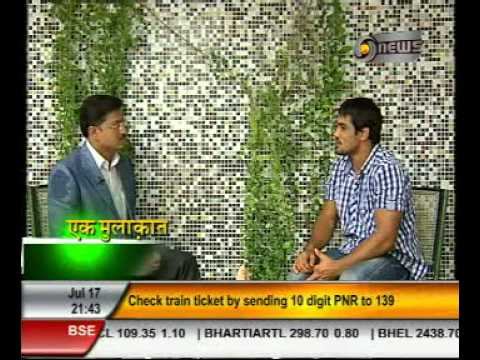 Manoj Tibrewal Aakash interviewed Wrestler Mr. Sushil Kumar for DD News