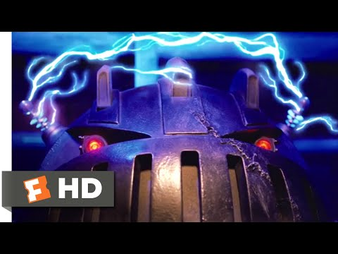 Zathura (2005) - Reprogramming the Killer Robot Scene (7/8)