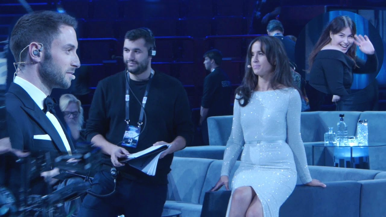 Petra Mans Molly Pettersson Hammar Edward Af Sillen At Eurovision 2016 Rehearsal Youtube