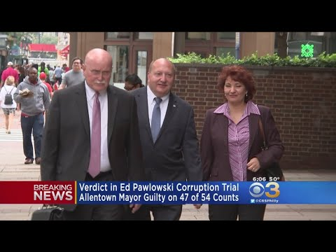 Allentown Mayor Found Guilty On Dozens Of Charges In Corruption Trial