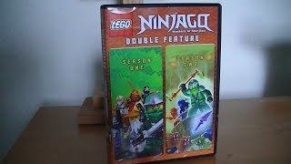 Lego Ninjago: The Complete 1st & 2nd Seasons - DVD Unboxing!