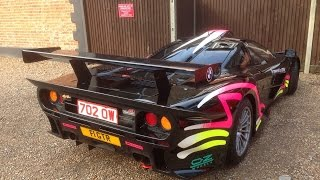 ROAD LEGAL McLaren F1 GTR Longtail SCARES old lady!!
