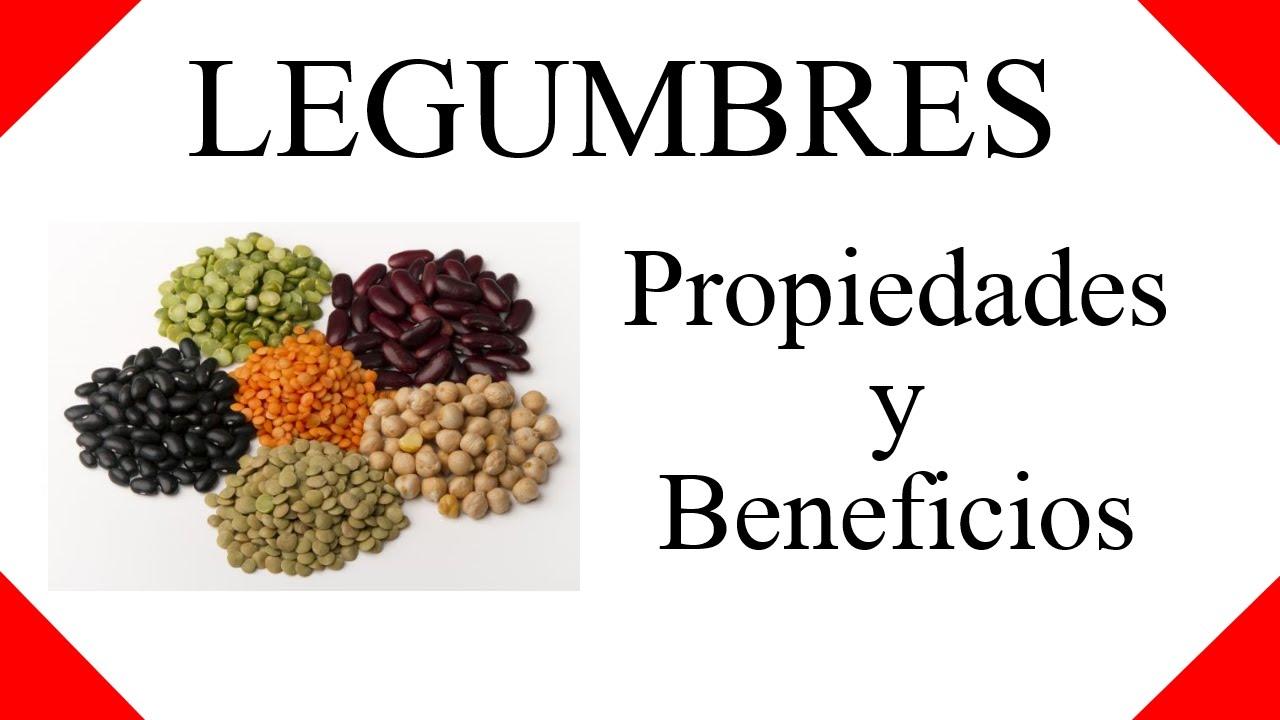 para que sirven las legumbres? ☀ legumbres propiedades y