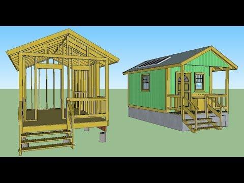 Quixote Off-Grid Cottage Plans