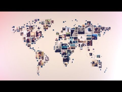 WORLD PHOTOS SLIDESHOW  Free After Effects Template