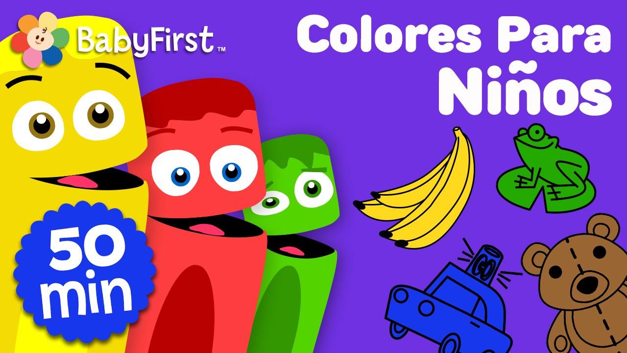 Aprendizaje de colores en espa ol para ni os videos para - Para ninos infantiles ...