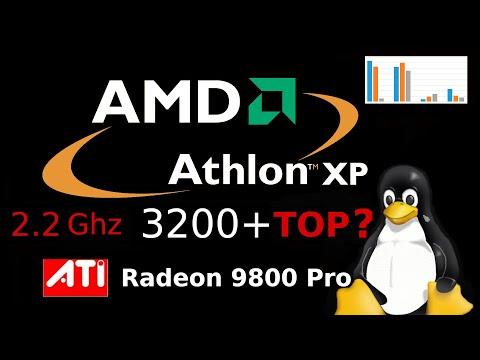 Athlon XP 3200+ разборка компа на топовом процессоре 2003 года от AMD затем сборка с ATI 9800 Pro