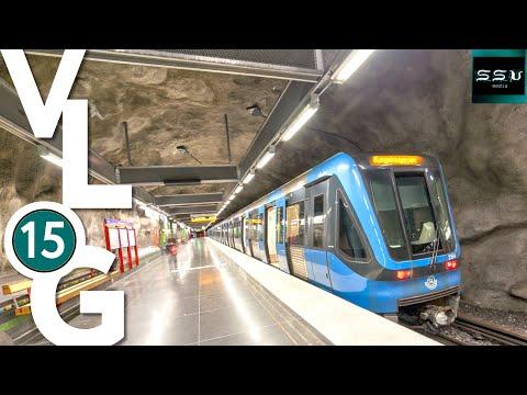 Метро, трамвай, электрички, узкоколейка Стокгольма, строительство трамвая в Тампере SsVMedia Vlog 15