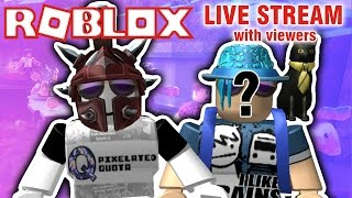 ROBLOX LIVE STREAM w/ VIEWERS! | Prison Life, Phantom Forces, Meepcity, & more! {EPISODE 58}