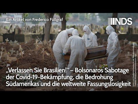 """""""Verlassen Sie Brasilien!"""" – Bolsonaros Sabotage der Covid-19-Bekämpfung, die Bedrohung Südamerikas"""