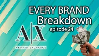 A/X Armani Exchange Every Brand Breakdown Ep. 24 of Items to Sell on eBay YouTube Videos