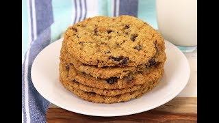 The BEST Chewy Oatmeal &amp Raisin Cookies! Ep #262