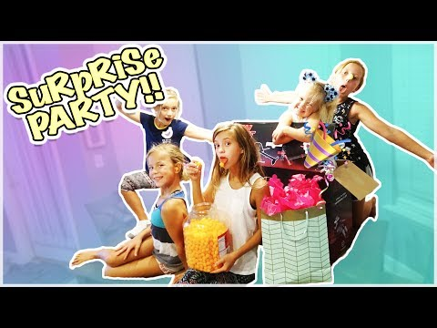 SUPER SECRET SURPRISE BIRTHDAY PARTY! DID SHE GET EVERYTHING SHE WANTED?