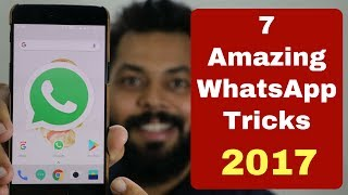 TOP 7 BEST WHATSAPP TRICKS Of 2017 | Do You Know Them?