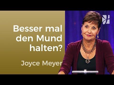 Jakobus 3: Warum Jesus den Mund hielt – Joyce Meyer – Gedanken und Worte lenken