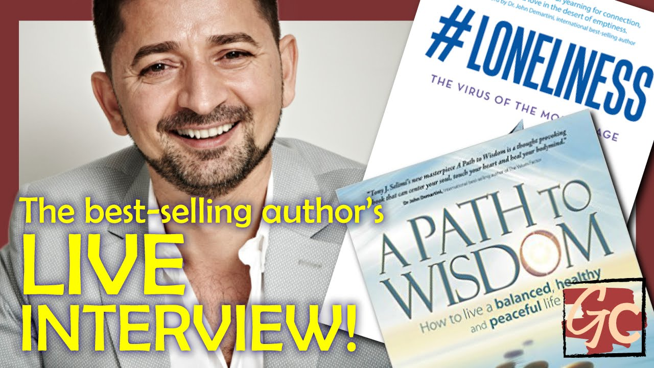 Live Interview Wbestselling Author & Life Coach Tony Selimi!  Youtube